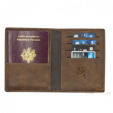 Porta pasaporte Gryffindor - Harry Potter