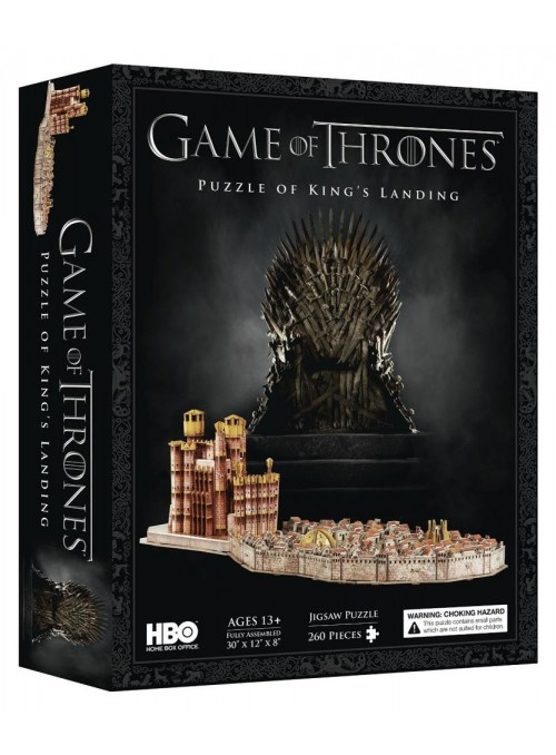 Game of Thrones 3D-Puzzle King ' s Landing