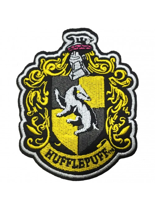 Parche Deluxe Hufflepuff - Harry Potter