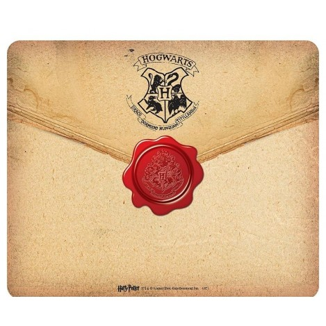 Alfombrilla para ratón Carta a Hogwarts - Harry Potter