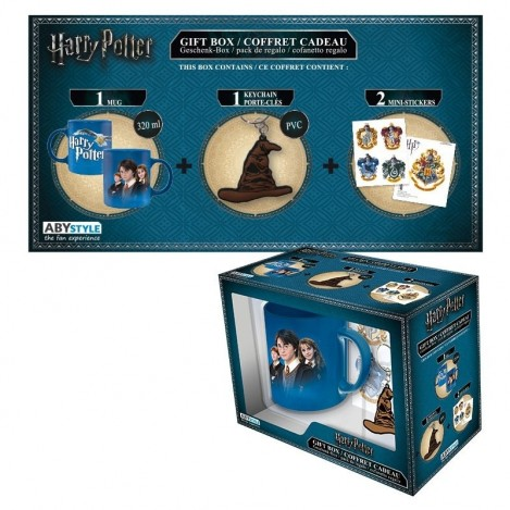 Pack Taza + Llavero + Pegatinas Harry Potter