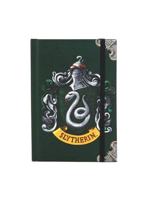 Libreta A6 Slytherin - Harry Potter