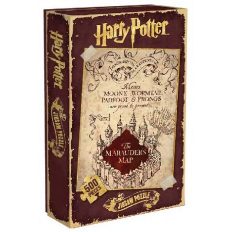 Puzzle Mapa Merodeador - Harry Potter