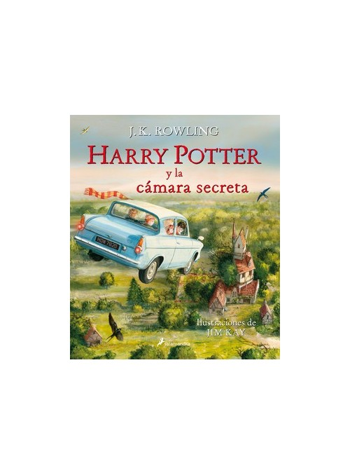 Harry Potter II La Cámara Secreta Ilustrado