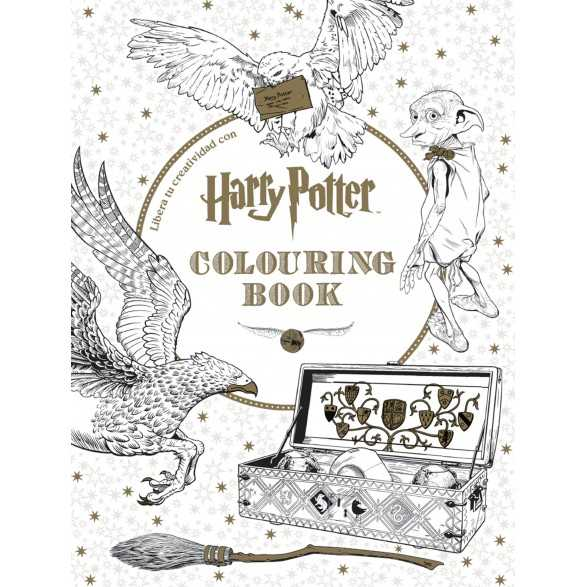 Harry Potter Coloring Book. Libro para colorear