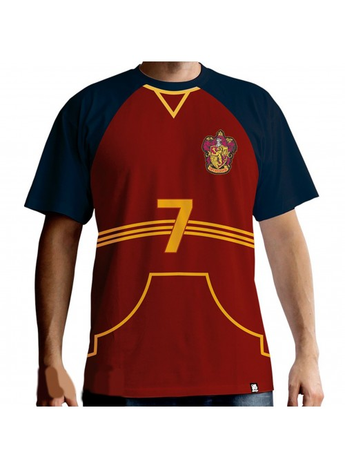 "T-shirt ""jersey Quidditch"" man - Harry Potter"
