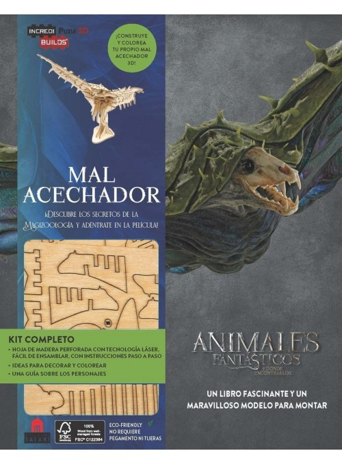 Incredibuilds Animales Fantásticos Mal Acechador
