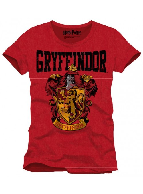 Camiseta escudo Gryffindor - Harry Potter