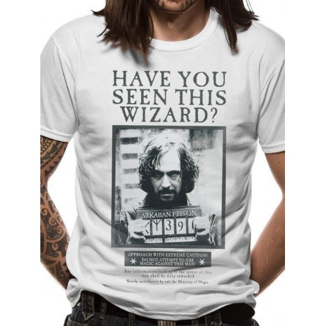 Camiseta Sirius Black - Prisionero de Azkaban - Harry Potter