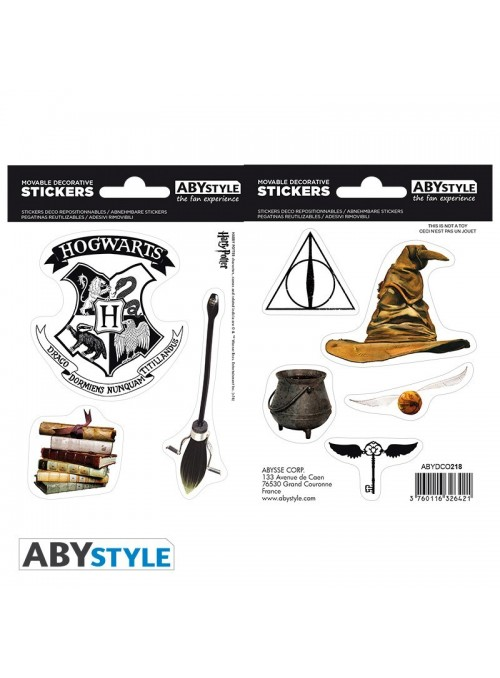 Stickers of objects magical - Harry Potter