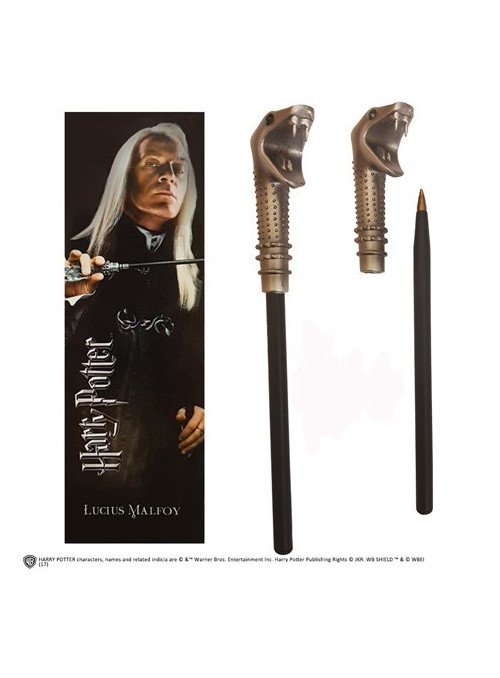 Pen wand with mark page Lucius Malfoy - Harry Potter