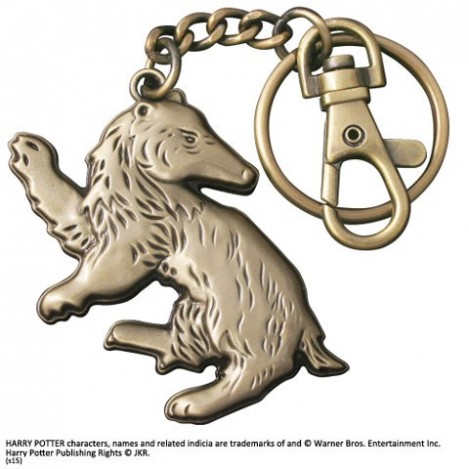 Keychain badger of Hufflepuff - Harry Potter