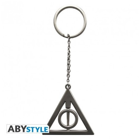 Keychain Deathly hallows 3D - Harry Potter