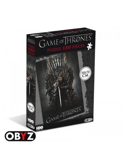 Game Of Thrones - Puzzle -Trono de Hierro