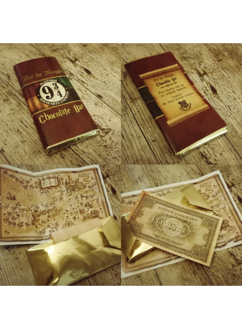 "Tablett ""Wonkabar"" Not for Muggles 9 3/4 - Harry Potter"