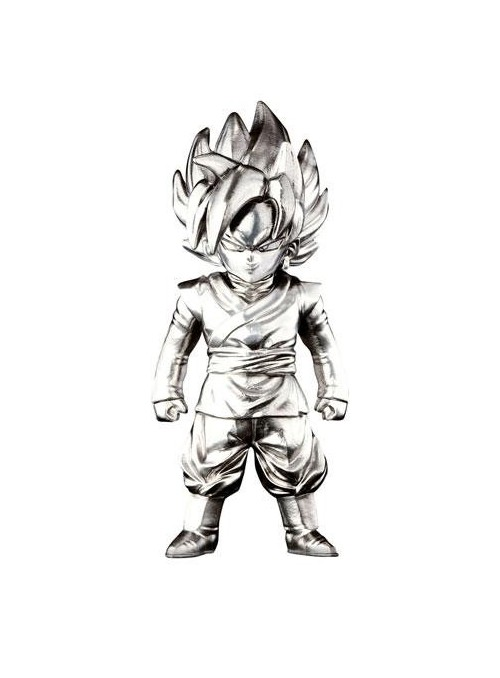 Figura Super Saiyan Goku Black 7 cm - Dragon Ball Z
