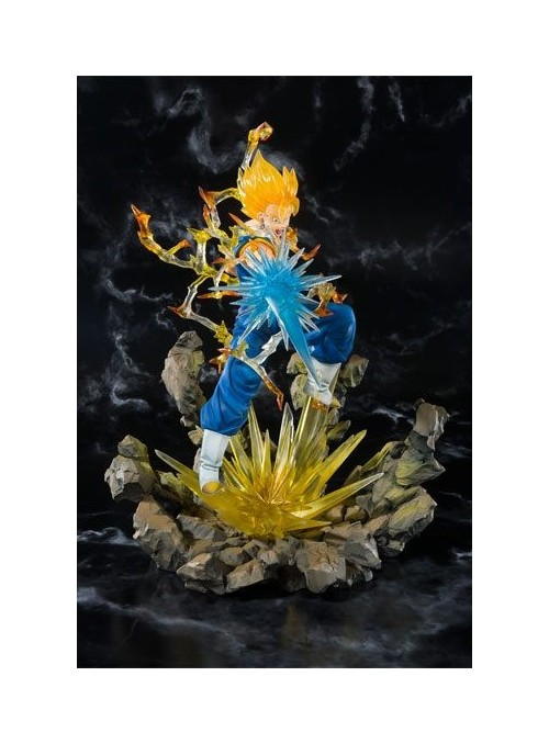 Figura Super Saiyan Vegetto 19 cm - Dragon Ball Z BTN