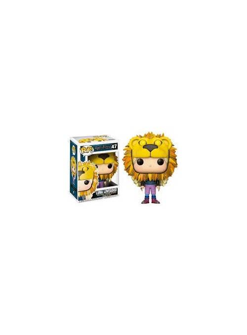 Figura POP Luna Lovegood Cabeza León - Harry Potter