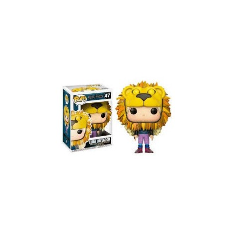 Figura Funko POP Luna Lovegood Cabeza León - Harry Potter