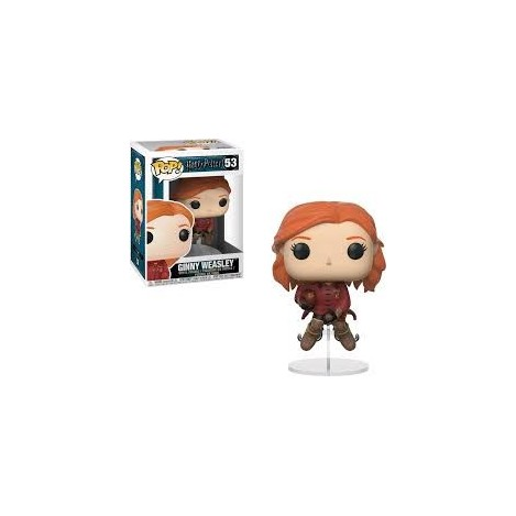 Figura Funko POP Ginny Sobre Escoba - Harry Potter