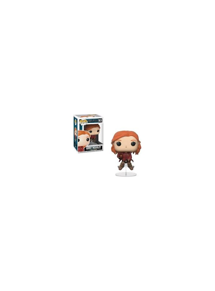 Ginny auf dem Quidditch Besen Funko POP Figur Harry Potter