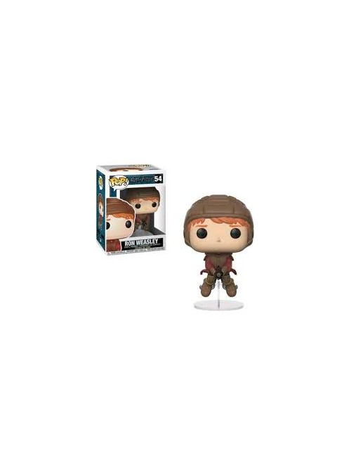 Figura POP Ron Sobre Escoba - Harry Potter