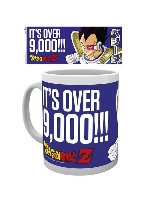 """Cup """"Its Over 9000""""- Dragon Ball Z"""