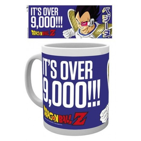 "Taza ""Its Over 9000""- Dragon Ball Z"