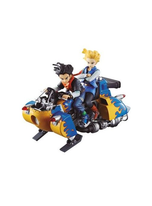 Diorama PVC Android 17 & Android 18 19 cm- Dragon Ball Z