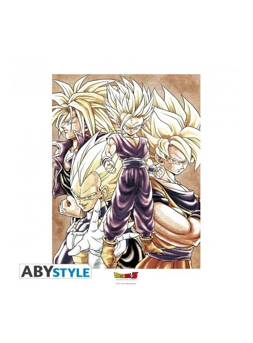 "Collector Artprint ""Saiyans""(50x40) - Dragon Ball Z"