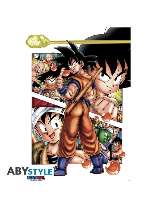 "Poster ""DB/ Son Goku story"" (91.5x61) - Dragon Ball"