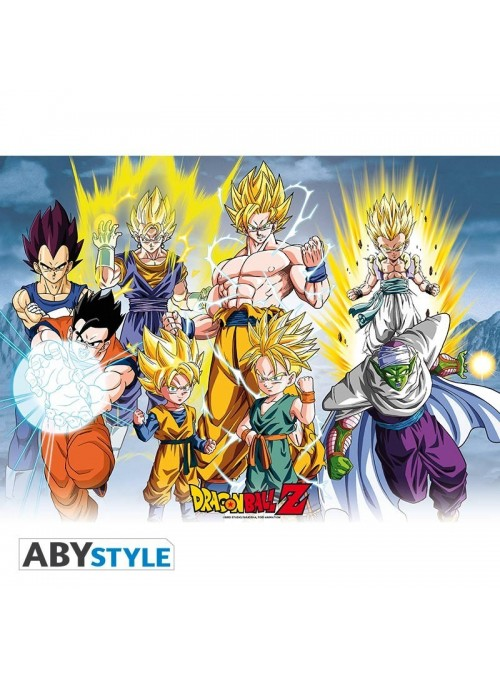 "Poster ""DBZ/All Stars"" (52x38) - Dragon Ball"