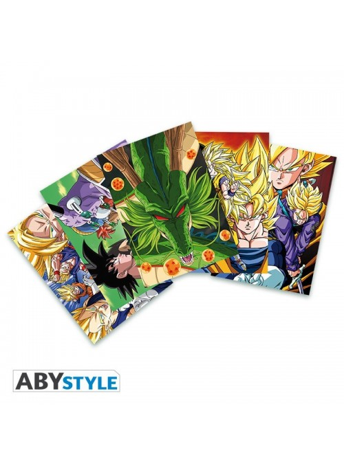 Set 5 Postales DBZ (14,8x10,5) - Dragon Ball