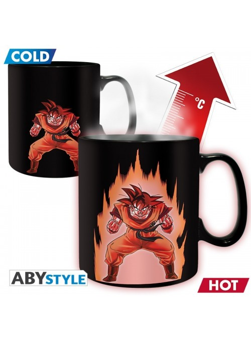 Taza Goku Sensible al Calor - Dragon Ball