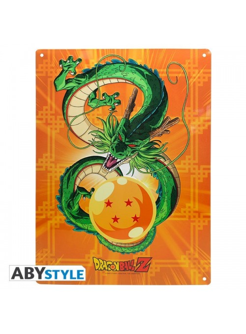 Placa de metal Shenron - Dragon Ball