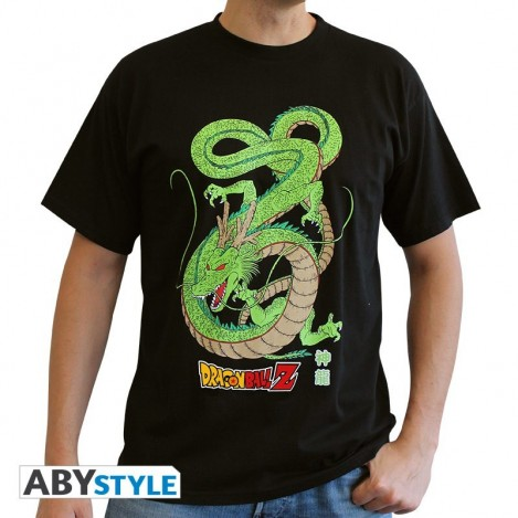 Camiseta Shenron Negra - Dragon Ball