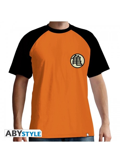 Herren T-Shirt Symbol Kame Orange - Dragon Ball