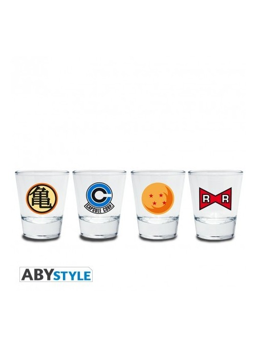 Dragon Ball Vasos Emblema