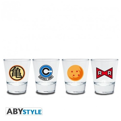 Vasos Chupito Emblema - Dragon Ball