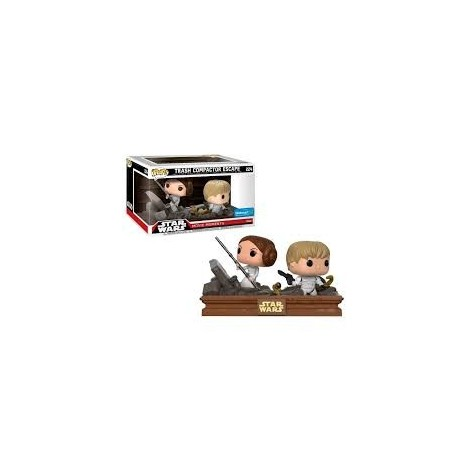 Figura Funko POP Luke & Leia Exclusive - Star Wars