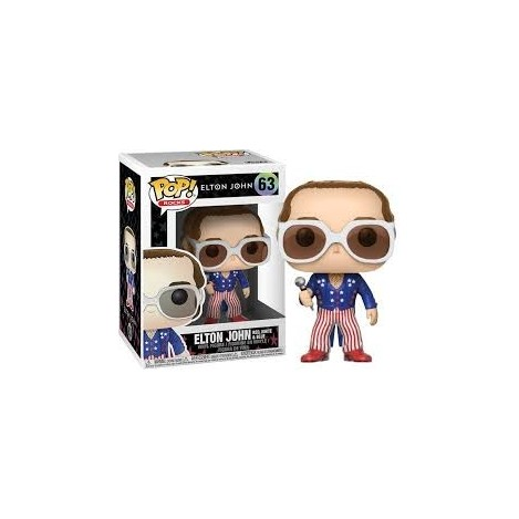 Figure POP-Elton John (Red & Blue)