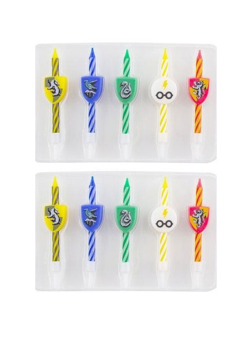 Pack of 10 birthday candles - Harry Potter