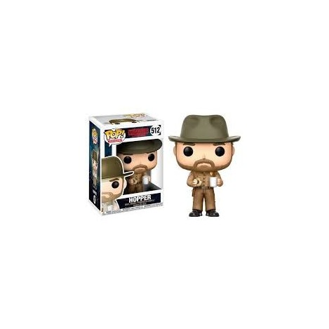 Figura Funko POP Hopper - Stranger Things