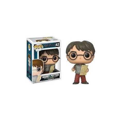 Figura Funko POP Harry Potter & Mapa del Merodeador