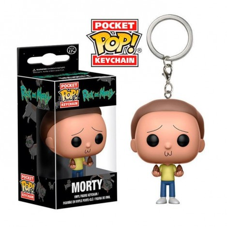 Llavero Pocket Funko POP Morty - Rick & Morty