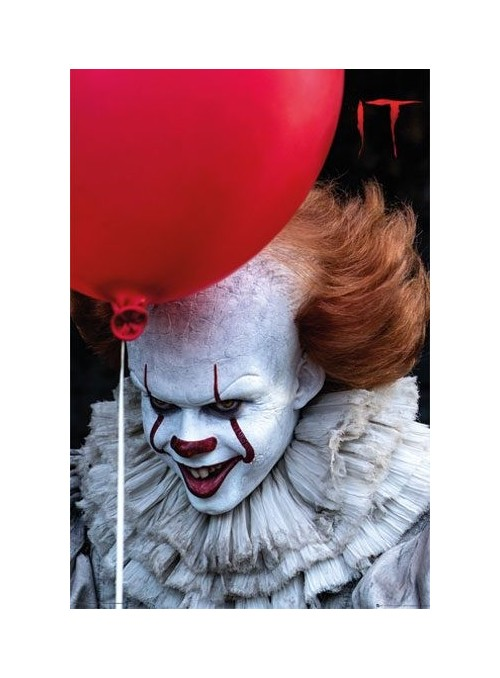 Poster Pennywise Globo Rojo 61x91cm