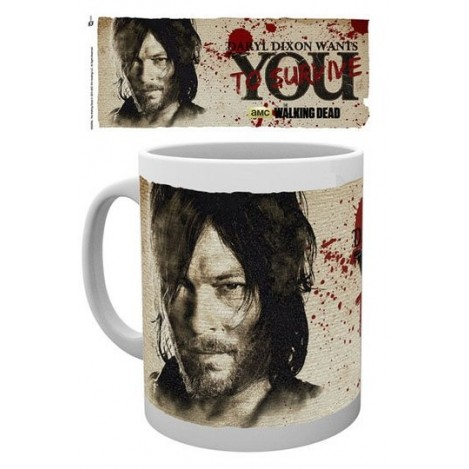 Taza Daryl Needs You - The Walking Dead