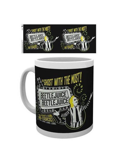 Taza Beetlejuice The Ghost With The Most