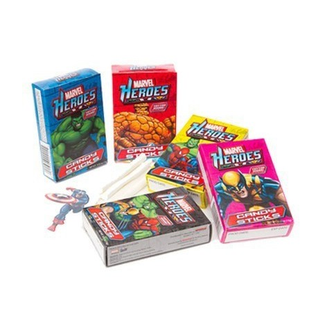 MARVEL CANDY STICKS CARAMELOS & TATUAJE