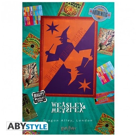 Poster Magasin Weasley 98X68cm- Harry Potter